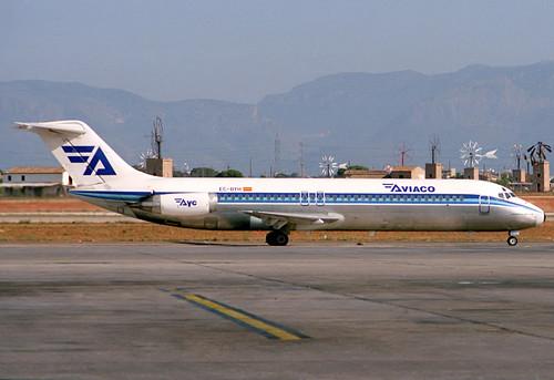 Aviaco DC-9-32 EC-BYH PMI 23/07/1988