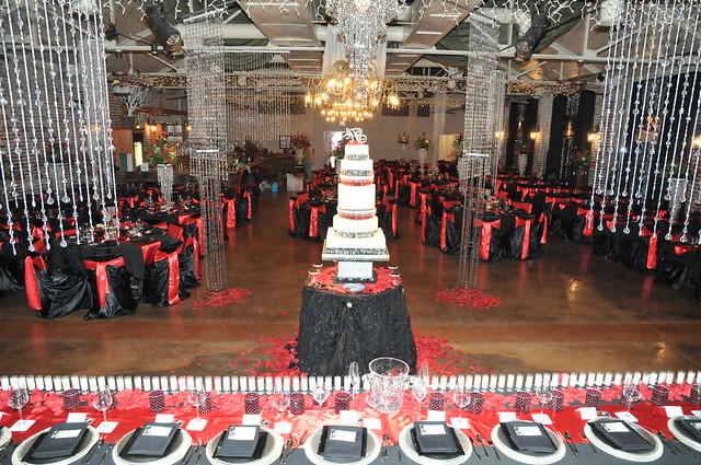 Black And Red Wedding Reception Flickr Photo Sharing