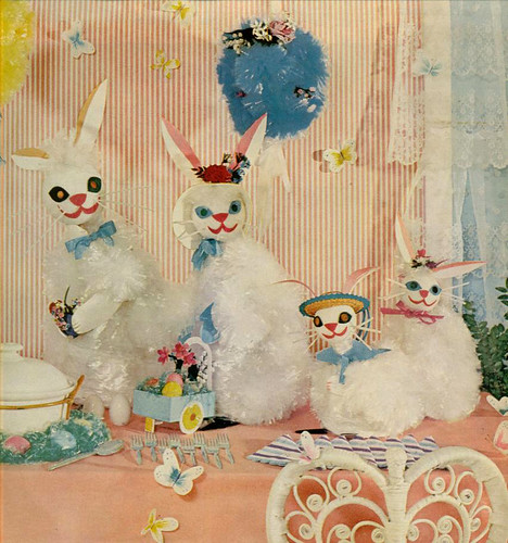 Retro Easter Decorations by Camp Smartypants
