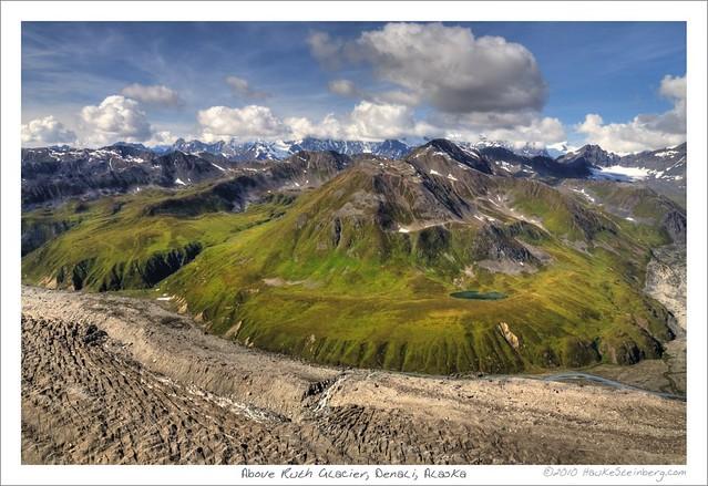 Above Ruth Glacier