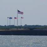 Fort Sumter As Seen from Fort Moultrie, Fort Sumter National Monument, Charleston, South Carolina