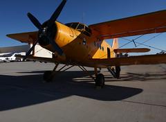 cessna 185(0.0), piper pa-18(0.0), piper j-3 cub(0.0), cessna o-1 bird dog(0.0), flight(0.0), air force(0.0), aviation(1.0), biplane(1.0), airplane(1.0), propeller driven aircraft(1.0), wing(1.0), vehicle(1.0), light aircraft(1.0), antonov an-2(1.0), propeller(1.0), aircraft engine(1.0),