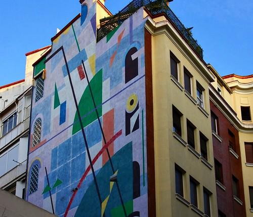 Flickriver madridlaciudad 39 s photos tagged with murales - Calle rafael salgado ...
