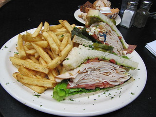 Bread Winners: California Turkey Club Sandwich