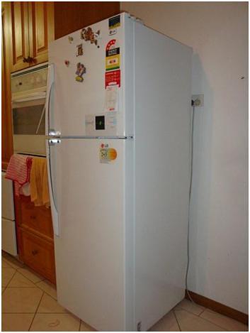 LG refrigerator 346L