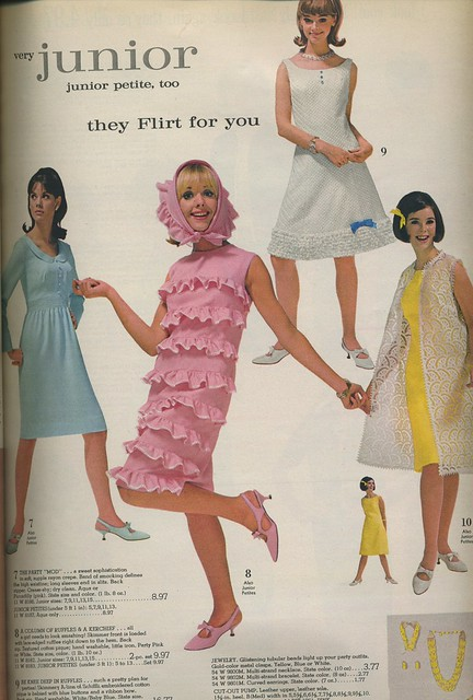 Spiegel catalog 1966 - girls dresses