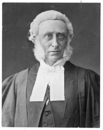 Sir Frederick Whitaker, ca 1870s Unidentified phot...