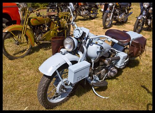 Wartime Harley Davidson-2&