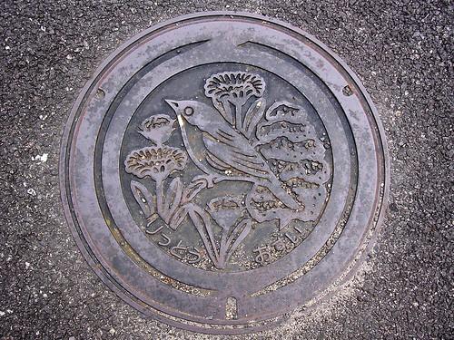 Ritto,Shiga  manhole cover(滋賀県栗東市のマンホール)