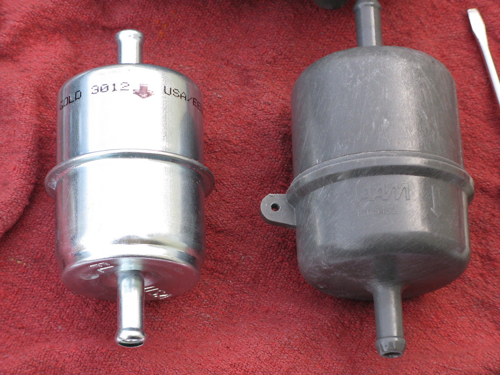 Fuel Filter Replacement  Step By Step