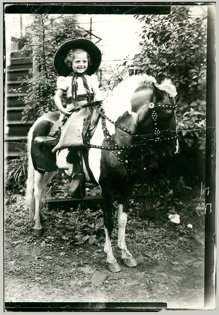 Cowgirl on a horse