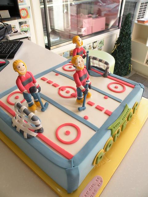 Ice Hockey Cake Toppers Uk