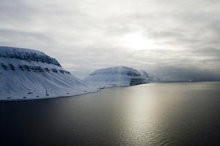 Approaching Longyearbyen