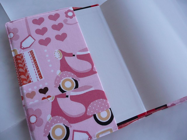 Tutorial Notebook Cover ~ Fabric journal cover notebook tutorial flickr