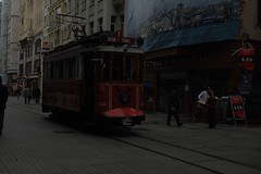 tram on istiklal street