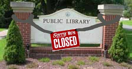 York Restoration Corporation Library Closed