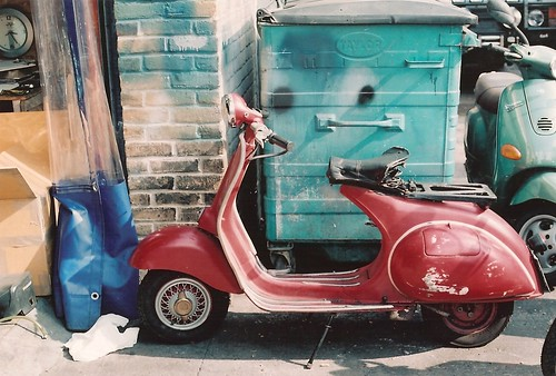 Scooterworks, Enid Street  by Vespamore !