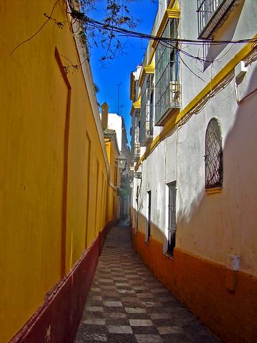Perdido por las calles de Sevilla