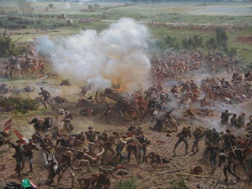 research papers on the battle of gettysburg Essay paper on the gettysburg address the gettysburg address is one of the speeches that stand out in us history it was delivered by abraham limcoln, the 16-th.