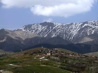 Mountain village in Hamedan
