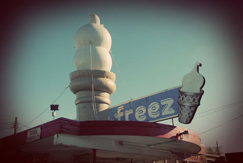 vintage cone