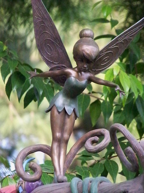Tinker bell statue at pixie hollow explore castles capes flickr photo sharing - Tinkerbell statues ...