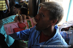 Drinkable Yogurt - Perfect Travel Food: Rio Paraguay