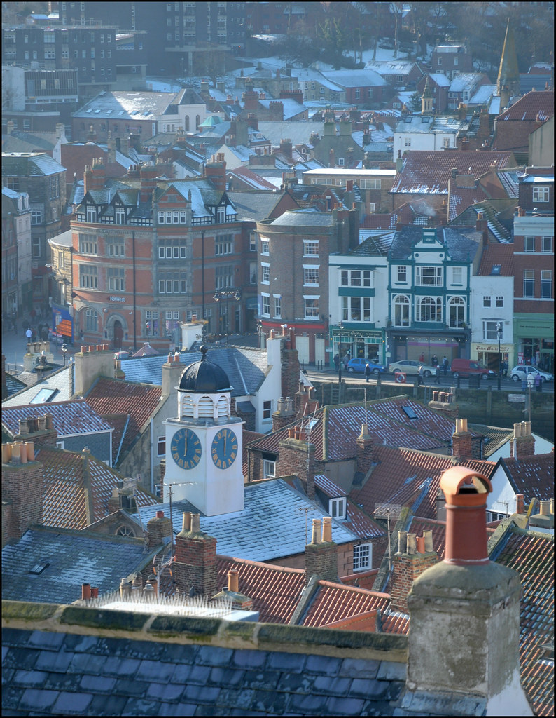 Whitby rooftops
