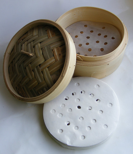 Bamboe stomer papier