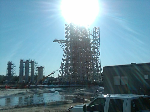 A3 Rocket Test Stand at NASA Stennis Space Center.