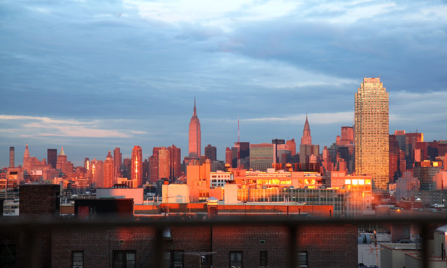 Manhattan Skyline Morning Light