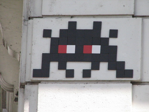 Space Invader PA_832 : Paris 20eme