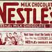 Nestle's Milk Chocolate - candy bar wrapper - 1950's 1960's by JasonLiebig