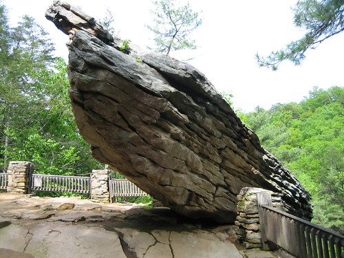 Balanced Rock, Trough Creek State Park