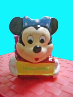 souvenir gypsum tempat pensil mynie