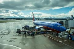 Southwest 737 at PDX