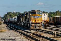 UP 4486 | EMD SD70M | NS Forrest Yard