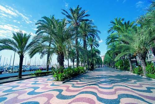 Alicante/Alacant (ciudad) - Explanada