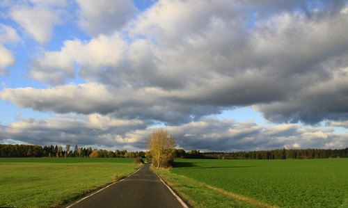 germany thuringia veilsdorf village tree road cloud sky landscape autumn autumnal herbst herbstlich autumnallandscape herbstlichelandschaft landschaftimherbst cloudysky bewölkterhimmel wolke wolkig wolkenamhimmel strase landstrase cloudy day littlestory