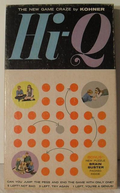 Kohner Vintage 1960s Hi-Q Game