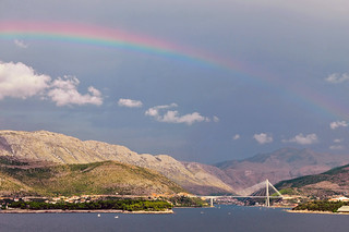 Dubrovnik under the rainbow