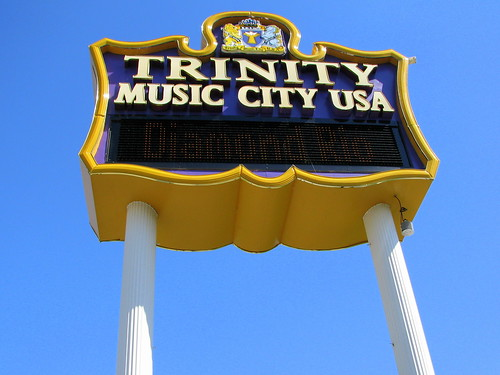 Trinity Music City sign