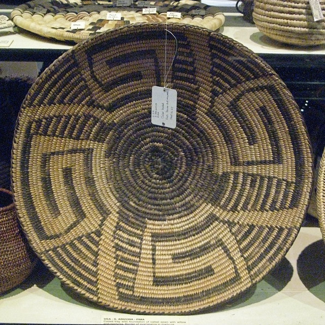How To Weave A Basket Out Of Cattails : Woven cattail basket flickr photo sharing