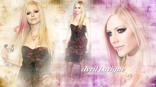 Avril Purple & Yellow