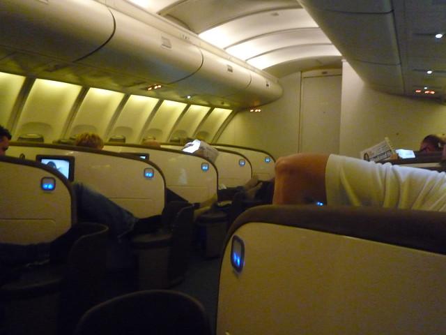 Air New Zealand Upper Deck Cabin