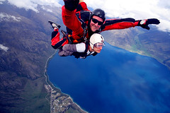 Skydiving... :S