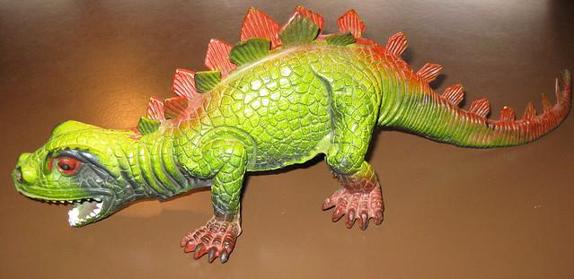 1980s Toy dinosaur stegasaurus   Flickr - Photo Sharing!