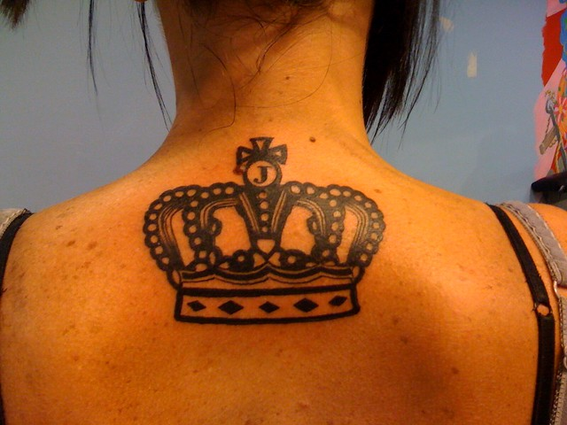 juicy couture crown tattoo by wes fortier flickr photo sharing. Black Bedroom Furniture Sets. Home Design Ideas