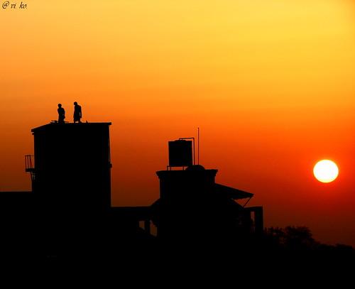 morning red sun india black men nature beautiful yellow sunrise earlymorning maharashtra silhoutte pune
