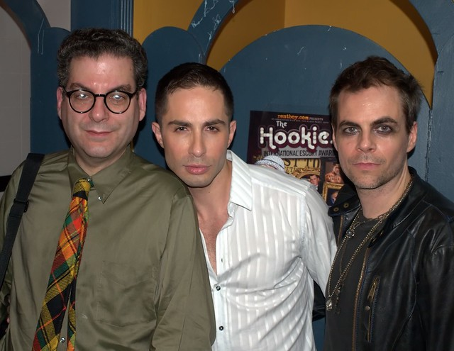 Michael Musto, Michael Lucas and Rob Roth